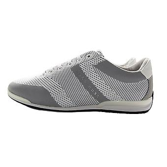 Hugo Boss Saturn Low Knit Trainer Grau