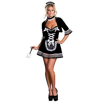 Maid My Day French House Keeper Cleaner Room Services Women Costume