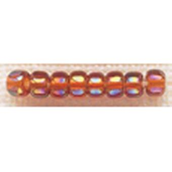 Mill Hill Glass Beads Size 6 0 4Mm 5.2 Grams Pkg Opal Smokey Topaz Gbd6 16609