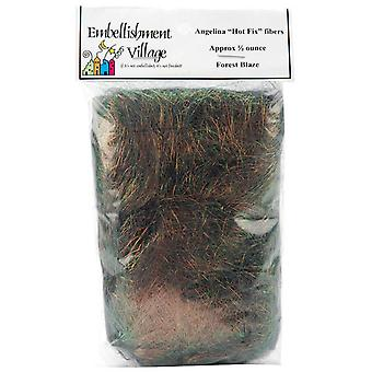 Angelina Straight Cut Fibers 1 2 Ounce Forest Blaze Ag103 61