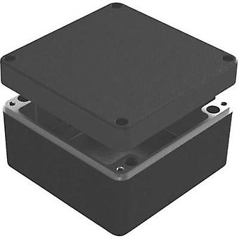 Universal enclosure 160 x 160 x 90 Aluminium Blue Deltron Enclosures 487-161609B-66 1 pc(s)