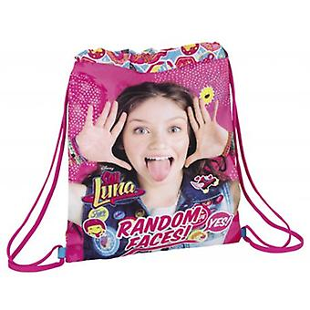 Safta Saco Plano Soy Moon (Toys , School Zone , Backpacks)