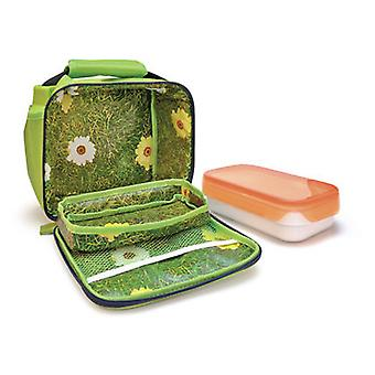 Iris MiniLunchBox Deco blomster + 1 container 0,6 L