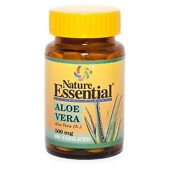 Nature Essential Aloe Vera 500 Mg. 60 Tablets