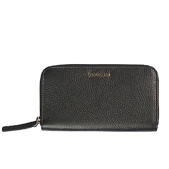 Trussardi women's wallets genuine leather Dollar 100% calf-19x10, 80x2 cm