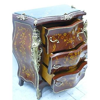 baroque chest of drawers cupboard louis pre victorian antique style MoKm0025