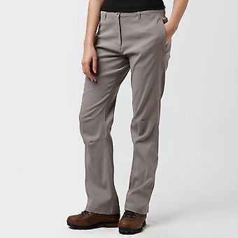 New Peter Storm Women's Stretch Roll-Up Trousers Grey