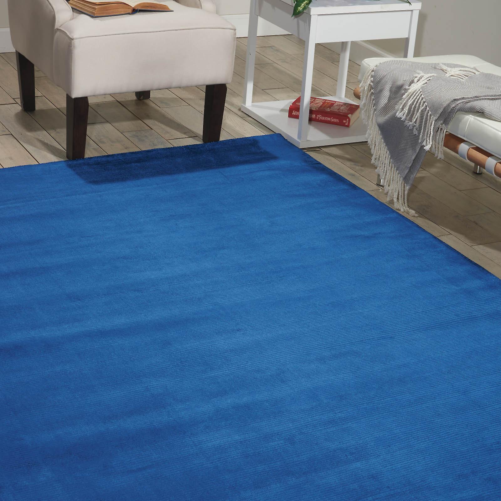 Calvin Klein alfombras Lunar Lun1 Klnbl en azul Klein