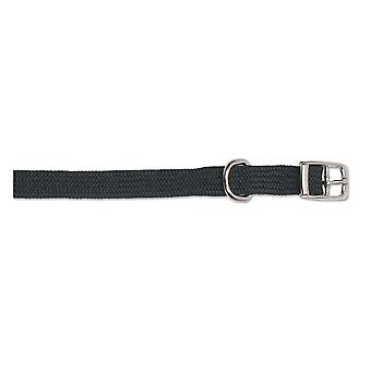 Heritage Nylon Softweave Collar Black 20-26cm Sz1