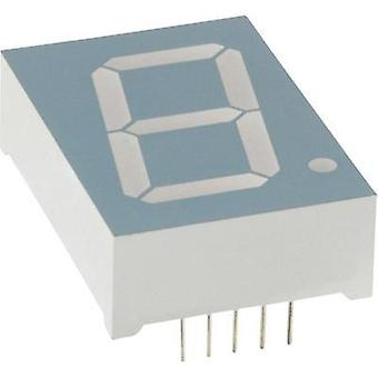 Seven-segment display Red 56.9 mm 6.8 V No. of digits: 1