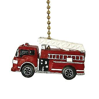 Brand lastbil brandbil brandmand loft Fan Pull