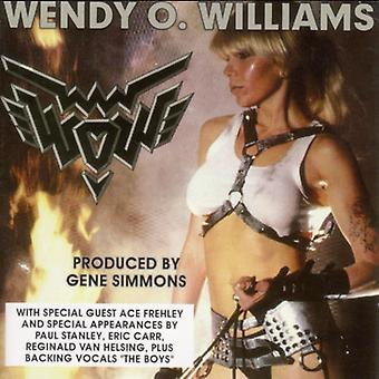 Wendy O. Williams - Wow [CD] USA import