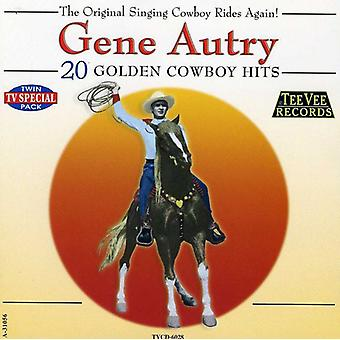 Gene Autry - 20 Golden Cowboy Hits [CD] USA importerer