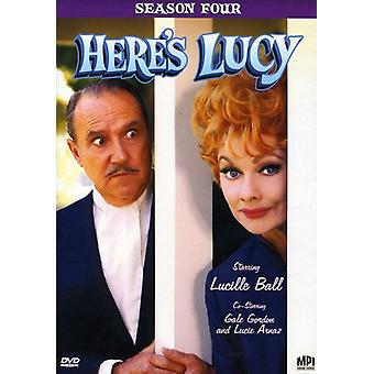 Her er Lucy: Sesong fire [DVD] USA import