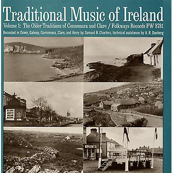 Musique traditionnelle d'Irlande - musique traditionnelle d'Irlande : Vol. 1-vieilles Traditions d'importation Connemara & USA Clare [CD]