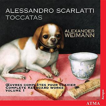 Scarlatti Alessandro - Scarlatti: importazione USA Toccatas [CD]