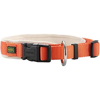 Hunter halsband neoprengummi Vario Plus Orange och grädde