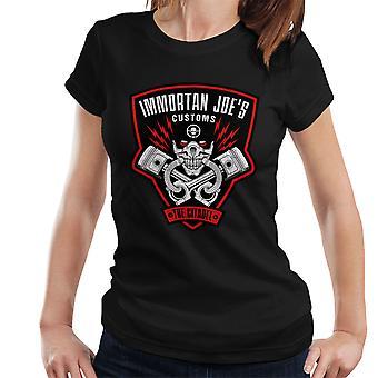 Immortan Joes told Mad Max raseri Road kvinder T-Shirt