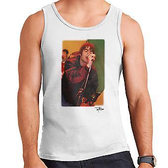 Oase Liam Gallagher uitvoeren van mannen Vest
