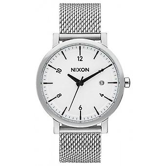 Nixon The Rollo 38 SS Watch - Silver
