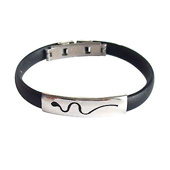 Mr wristband bracelet unisex bracelet stainless steel and PU