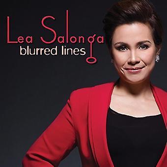 Lea Salonga - sløret linjer [CD] USA importerer