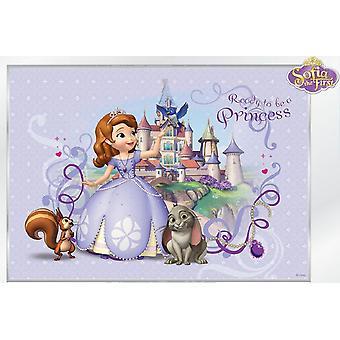 Prinses Sophia Disney grote decoratie muurschildering 368x254cm