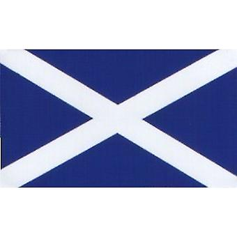 W4 Scotland Flag Rectangle Sticker