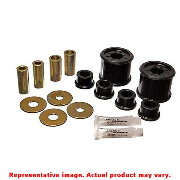 Energy Suspension Control Arm Bushing Set 5.3136G Black Front Fits:MITSUBISHI 2