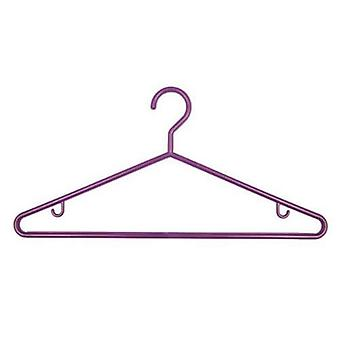 1x3 Purple Plastic Hangers 43cm from Caraselle
