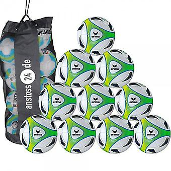 10 x Erima youth ball hybrid Lite 350 includes ball sack