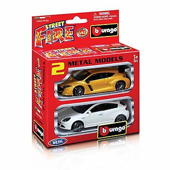 Burago 1/43 Street Fire Set 2 Coches