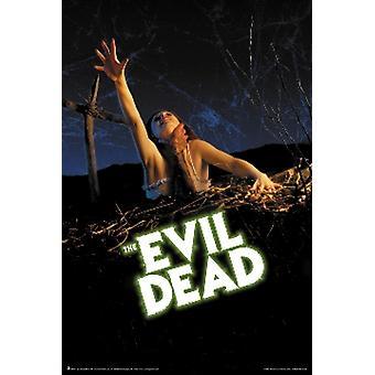 Evil Dead plakat plakatutskrift