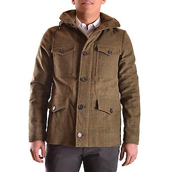 Peuterey men's MCBI235093O green wool coat