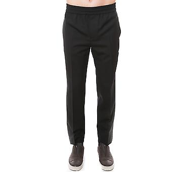 Golden Goose men's G30MP503A2 Black wool pants