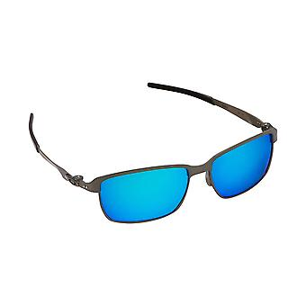 Best SEEK Polarized Replacement Lenses for Oakley TINFOIL Black Blue Mirror