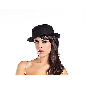 Be Wicked BW0704 Felt Derby Hat