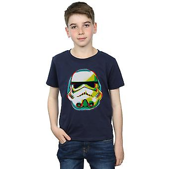Star Wars Boys Stormtrooper Command Grafitti T-Shirt