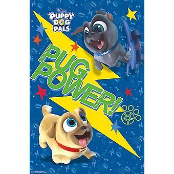 Puppy Dog Pals - Pug Power Poster Print