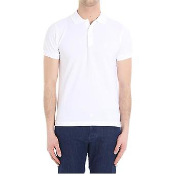 Brooks Brothers men's 100056069 white cotton polo shirt