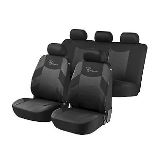 Elegance Car Seat Cover For Grey &, Black For Ford FOCUS Estate 1999 to 2004