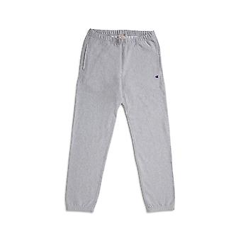 Champion Reverse Weave Elastic Cuff Joggers Grey