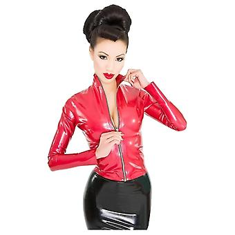 Westward Bound Red Label - Mistress Jacket Latex Rubber Top