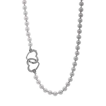 Misaki ladies necklace beads CUORE PEARL QCRNCUOREPEARL