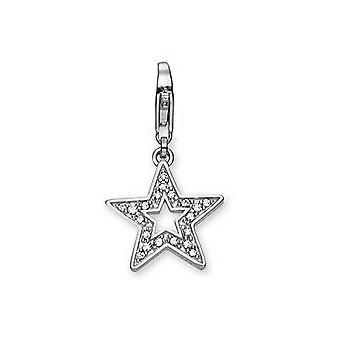 ESPRIT pendant of charms silver glamour star star ESZZ90533A000