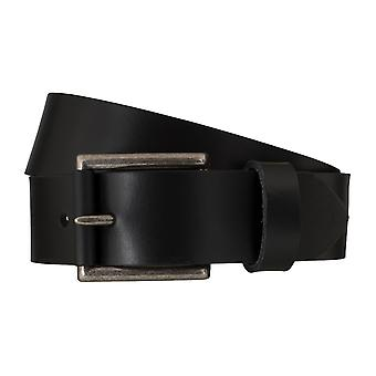Levi BB´s belts men's belts leather jeans belt black 6252