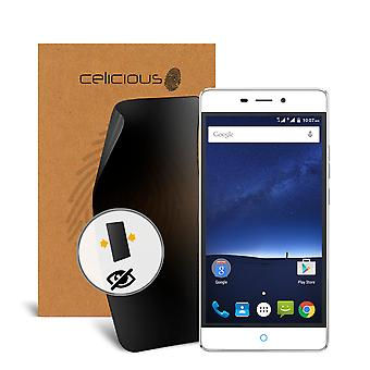Celicious Privacy 2-Way Anti-Spy Filter Screen Protector Film Compatible with ZTE Blade V Plus