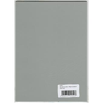 Hunkydory Adorable Scorable A4 Cardstock-Silver Frost