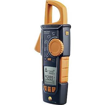 testo 770-3 Clamp meter, Handheld multimeter Digital Calibrated to: Manufacturer's standards (no certificate) CAT III 1