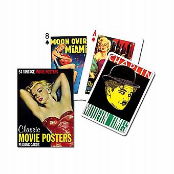 Classic Movie Posters Set Of Playing Cards